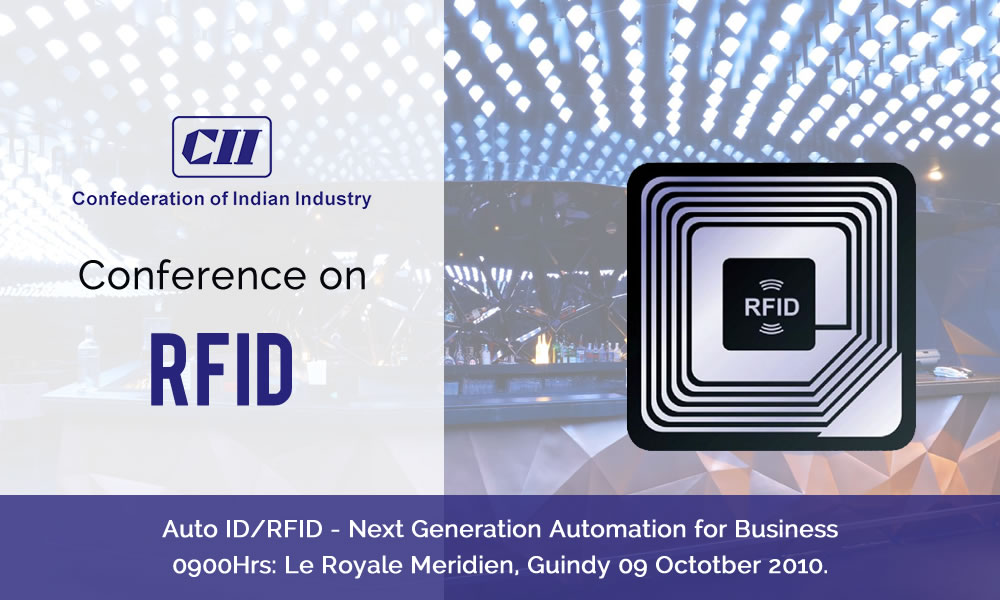 Trinetra Co-sponsors a Conference on RFID organized by CII