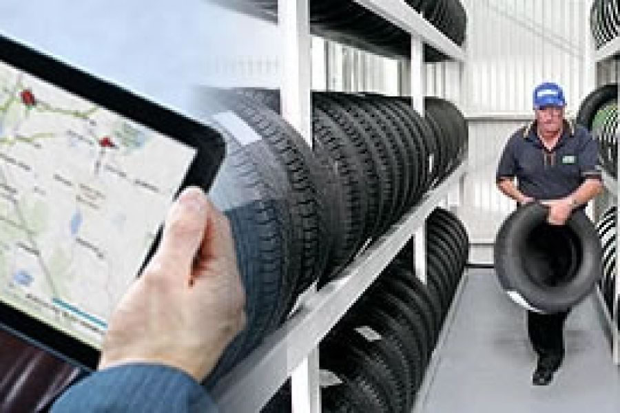Efficient ways for tyre management with GPS