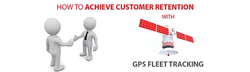 Fleet tracking to improve customer service
