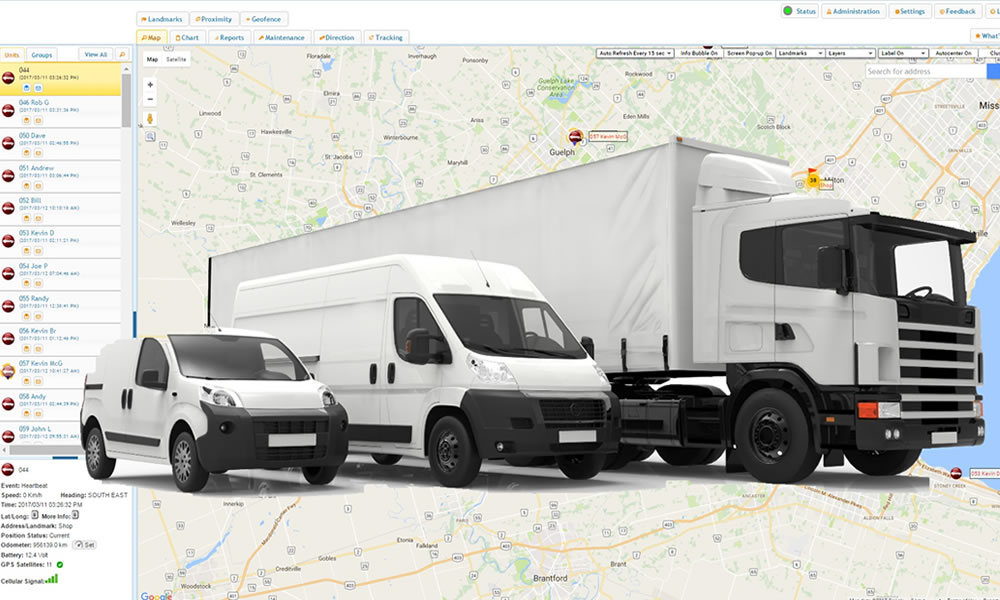 No more Idling worries- Fleet monitoring made easy with Trinetra