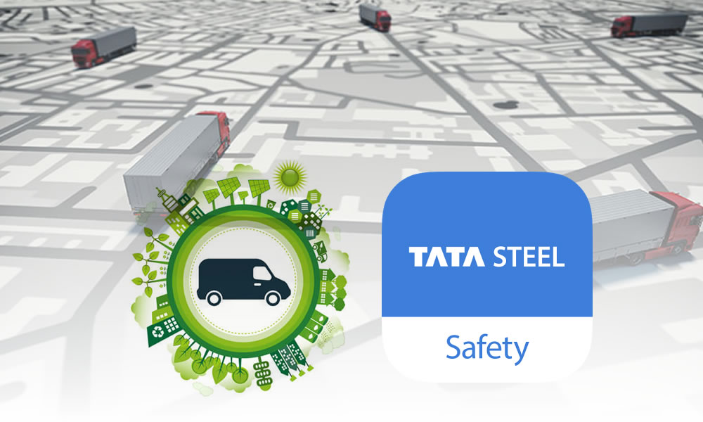 Trinetra' s participation in TATA Steel's safety week