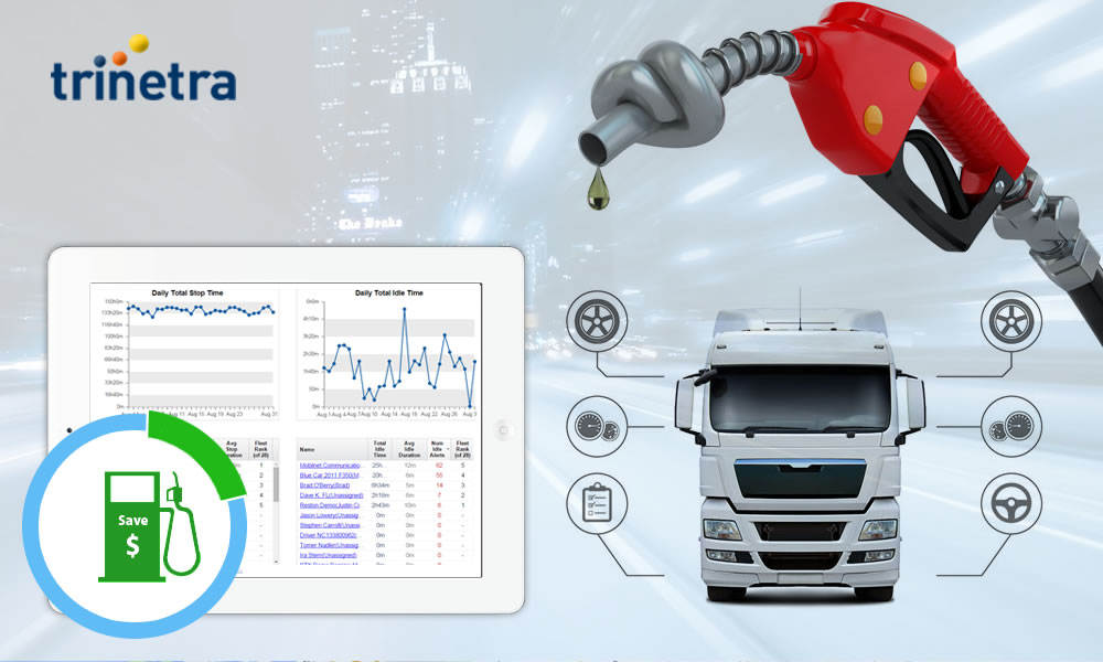 Trinetra – Idling based fuel saving tool