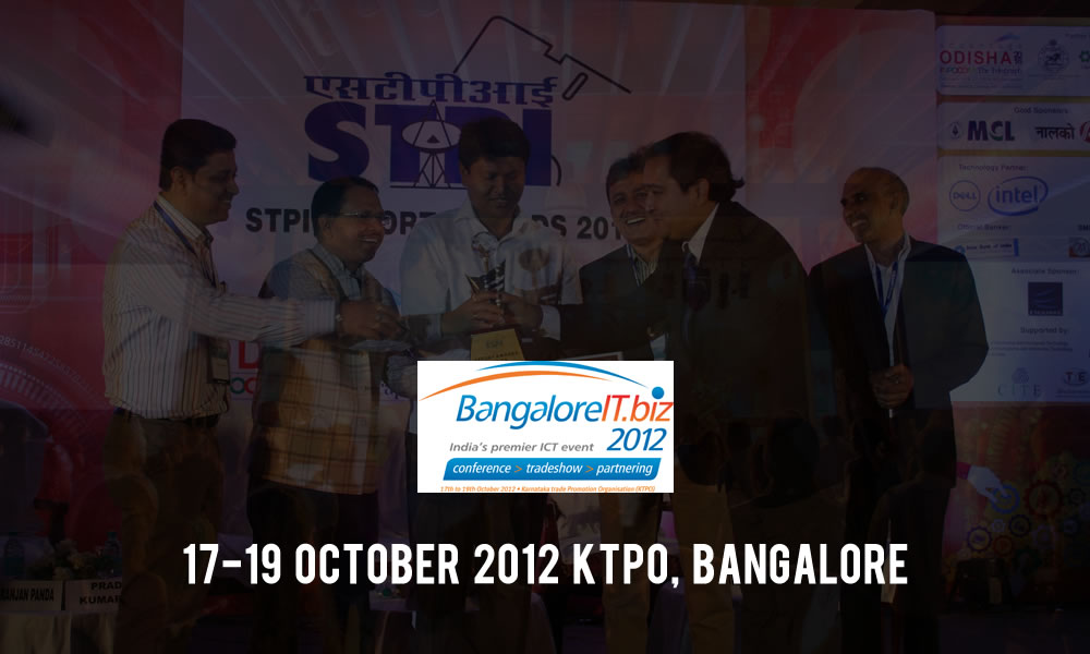 Trinetra Bags STPI MSME Pavilion Award at Bangalore IT Biz 2012