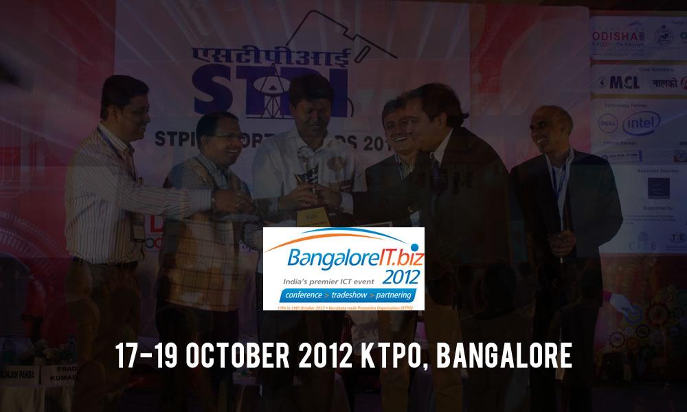 Trinetra Bags STPI MSME Pavilion Award at Bangalore IT Biz 2012