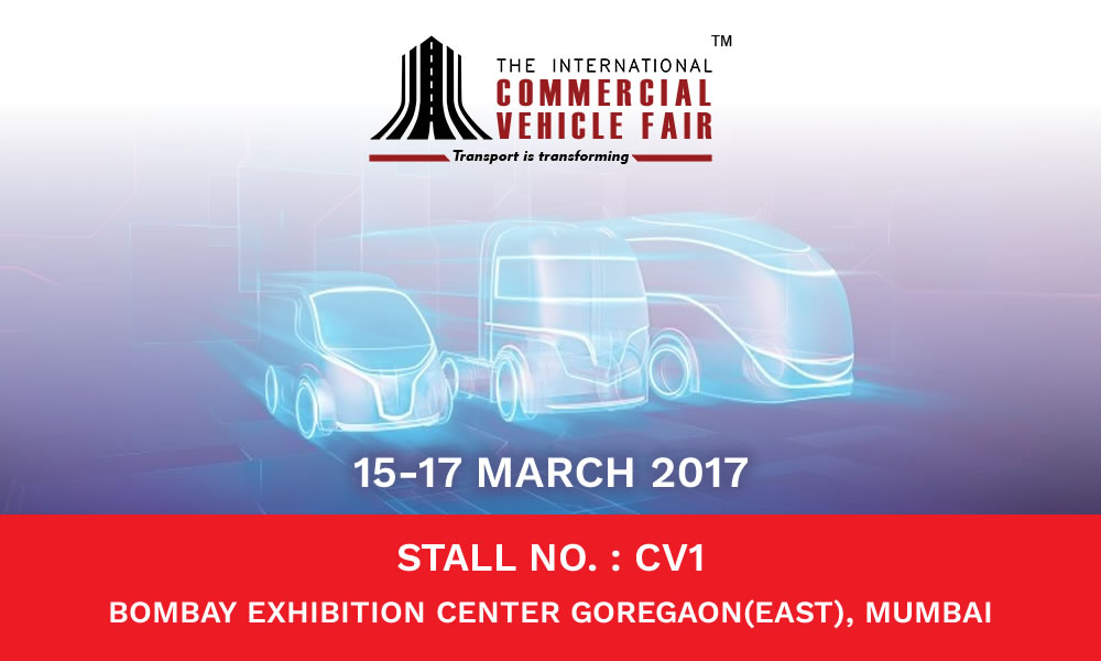 Trinetra exhibits in International Commercial Vehicle Fair 2017 for the 4th Consecutive Year