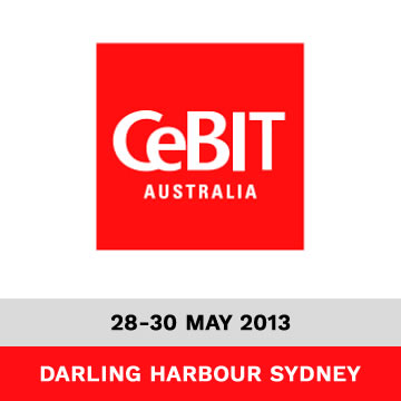 Trinetra Exhibits at CeBIT Australia 2013 Trade Show