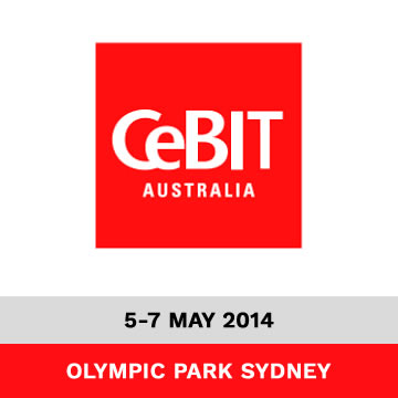 Trinetra Exhibits at CeBIT Australia 2014