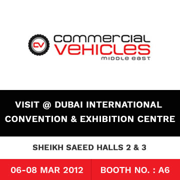 Trinetra Participates in Commercial Vehicles Middle East (CVME) Exhibition 2012