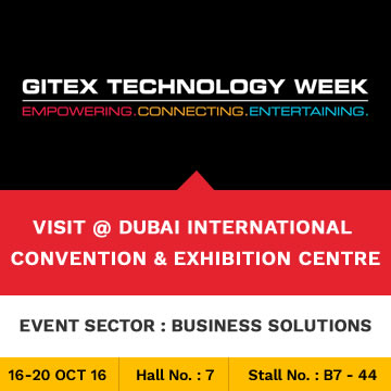Trinetra participates in GITEX 2016 for the 8th Consecutive Year in Dubai