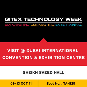 Trinetra Participates in GITEX 2011 Technology Week, Dubai