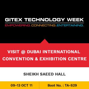 Trinetra Participates in GITEX 2011 Technology Week, Dubai
