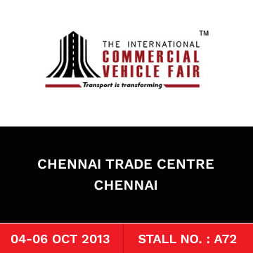 Trinetra Wireless Exhibits at the International Commercial Vehicle Fair 2013