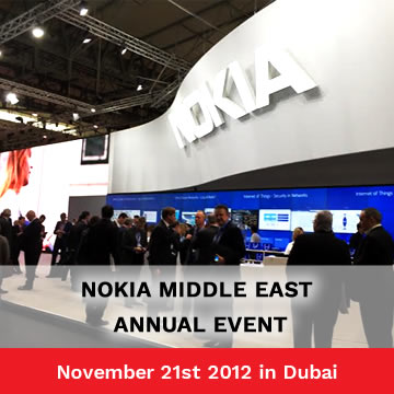 Trinetra Wireless Invited to Exhibit in Nokia Middle East Annual Event