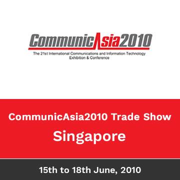 Trinetra Wireless Participates In CommunicAsia2010, Singapore