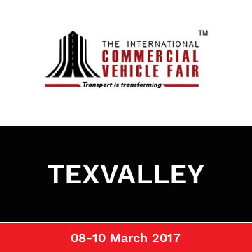 Trinetra exhibited in International Commercial Vehicle Fair 2016