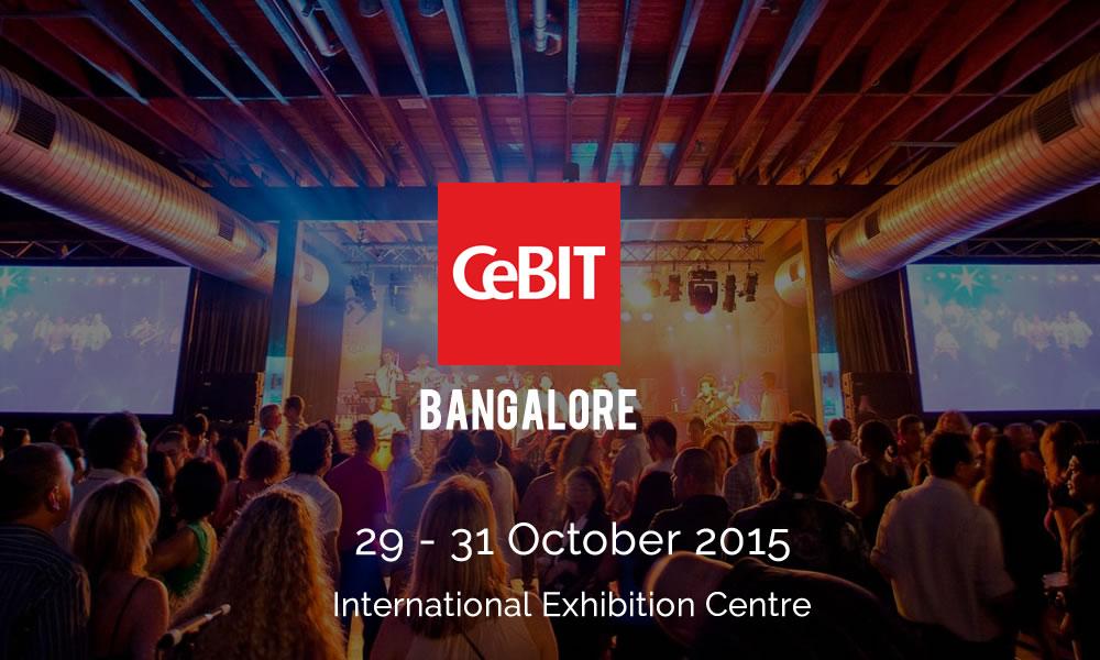 Trinetra exhibits in CeBIT India 2015
