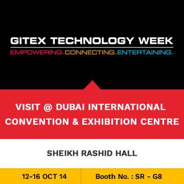 Trinetra participates in GITEX 2014 for the 6th Consecutive Year in Dubai