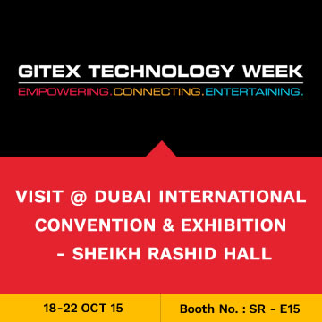 Trinetra participates in GITEX 2015 for the 7th Consecutive Year in Dubai