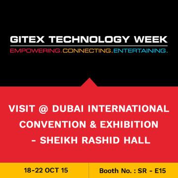 Trinetra participates in GITEX 2015 for the 7th Consecutive Year in Dubai