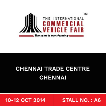 Trinetra participates in The International Commercial Vehicle Fair 2014 for the 2nd Consecutive time