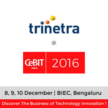 Trinetra wireless Participated in CeBIT India 2016