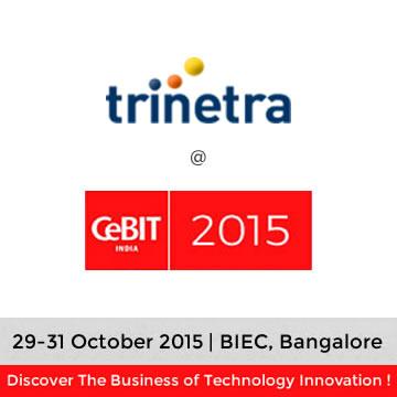 Trinetra wireless in CeBIT India 2015