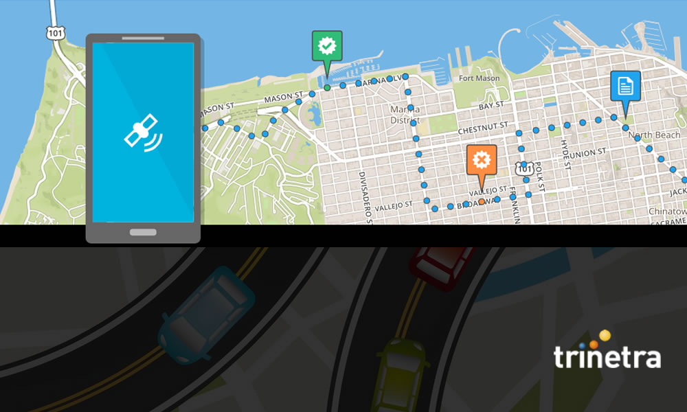 Vehicle Tracking System With User Friendly Geozone
