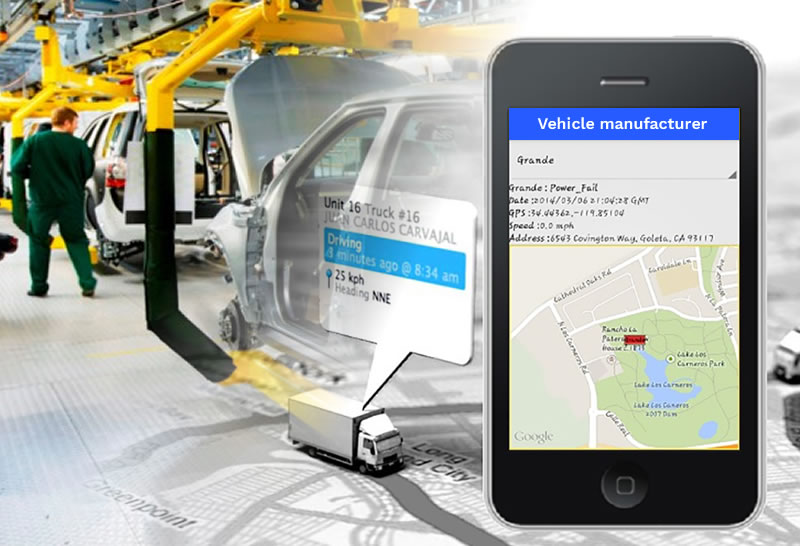 Vehicle manufacturer