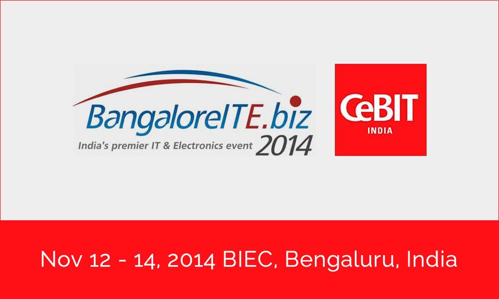 Trinetra exhibited in CeBIT 2014 Bangalore-Trinetra Wireless