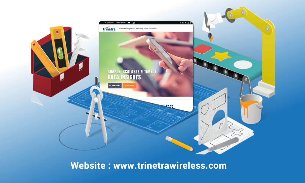 Trinetra Wireless – Enriched with new look & feel