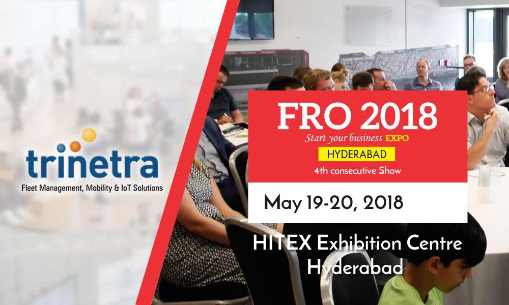 Trinetra participates in in FRO-2018, Hyderabad