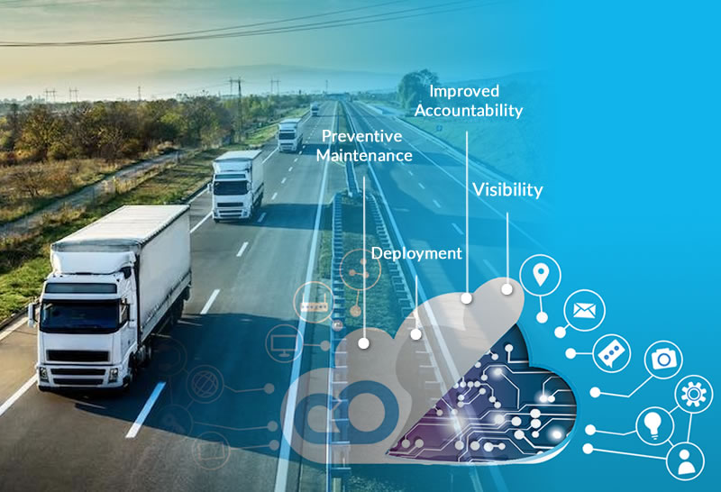 Ways how IoT empowers Fleet management