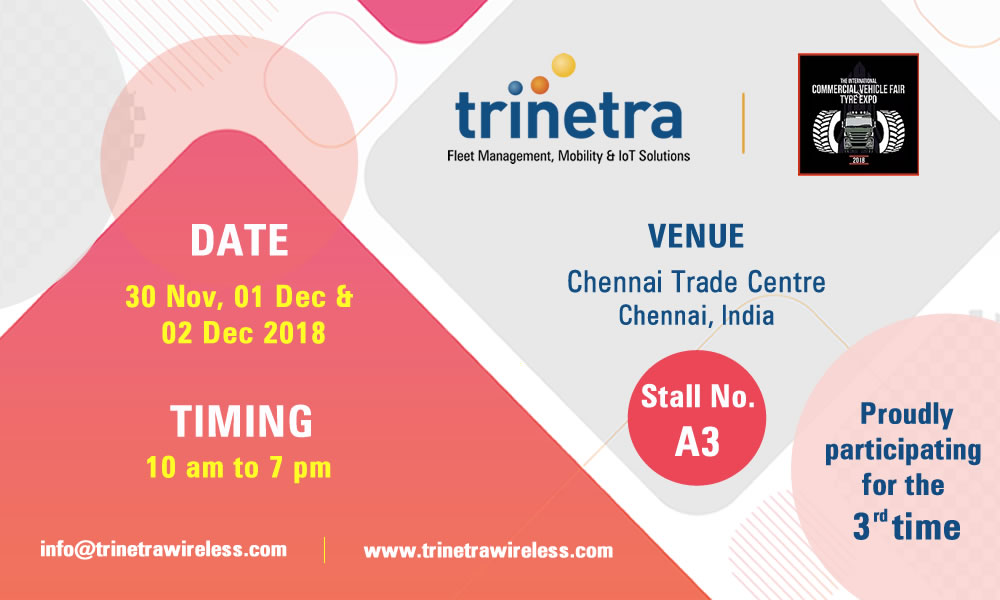 Trinetra participating in international CV Fair