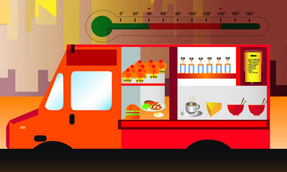 Food Safety and profitability of refrigerated trucks depend on temperature monitors
