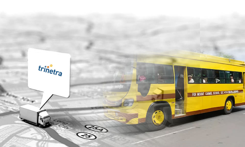 Trinetra comes with GPS installation certification, especially suitable for school and education sector