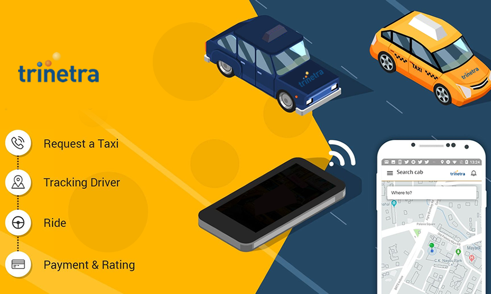 Cab booking experience gets enhanced for app users with Trinetra's features