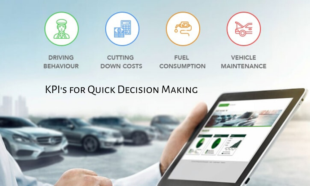 KPIs for quick decision-making are supported by Fleet Management Software.