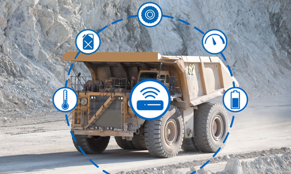 Reduce or prevent unauthorised usage of mining vehicles using FMS