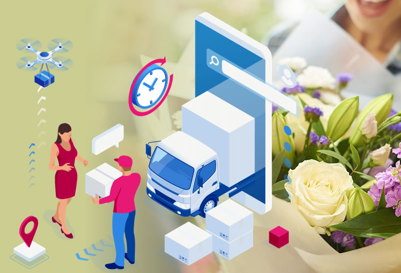 Flower Delivery Vehicle Monitoring