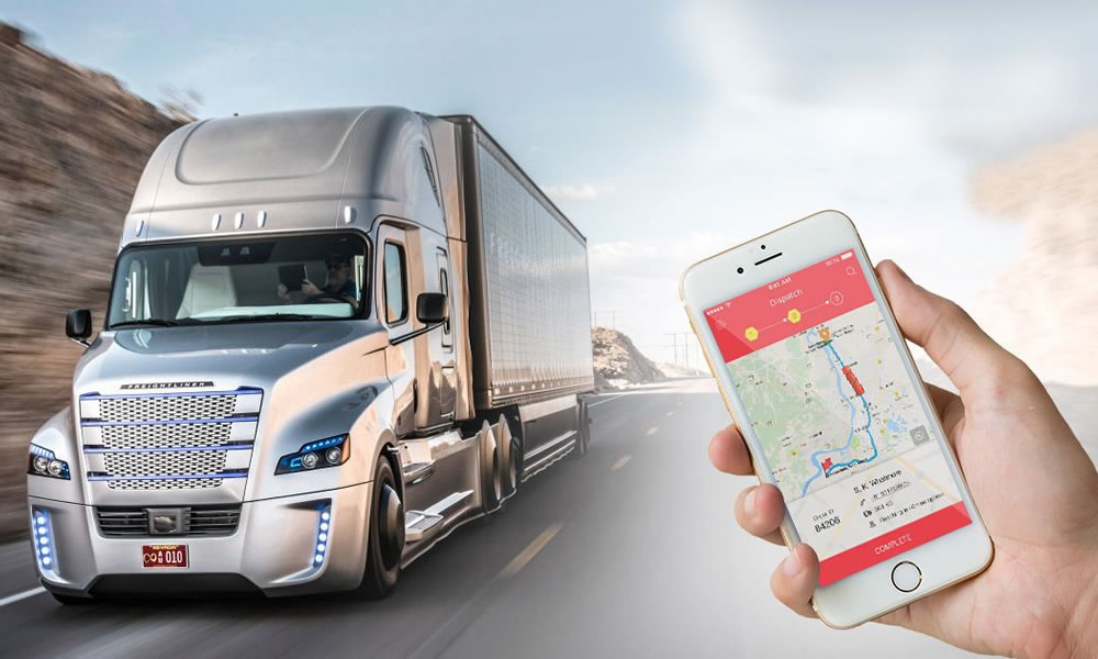 Cut running cost of freight transport vehicles by smart routing and scheduling.