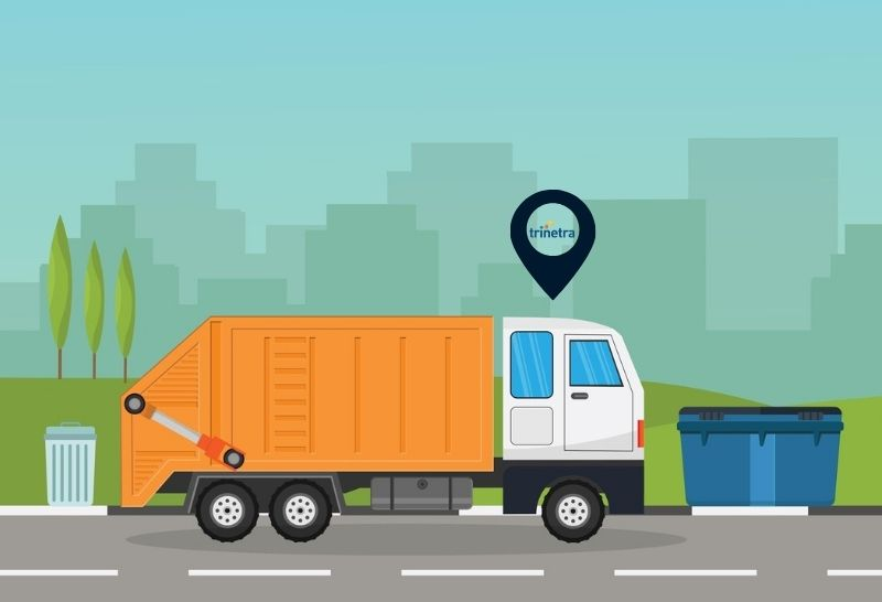 GPS Tracking Solution for Waste Management Vehicle